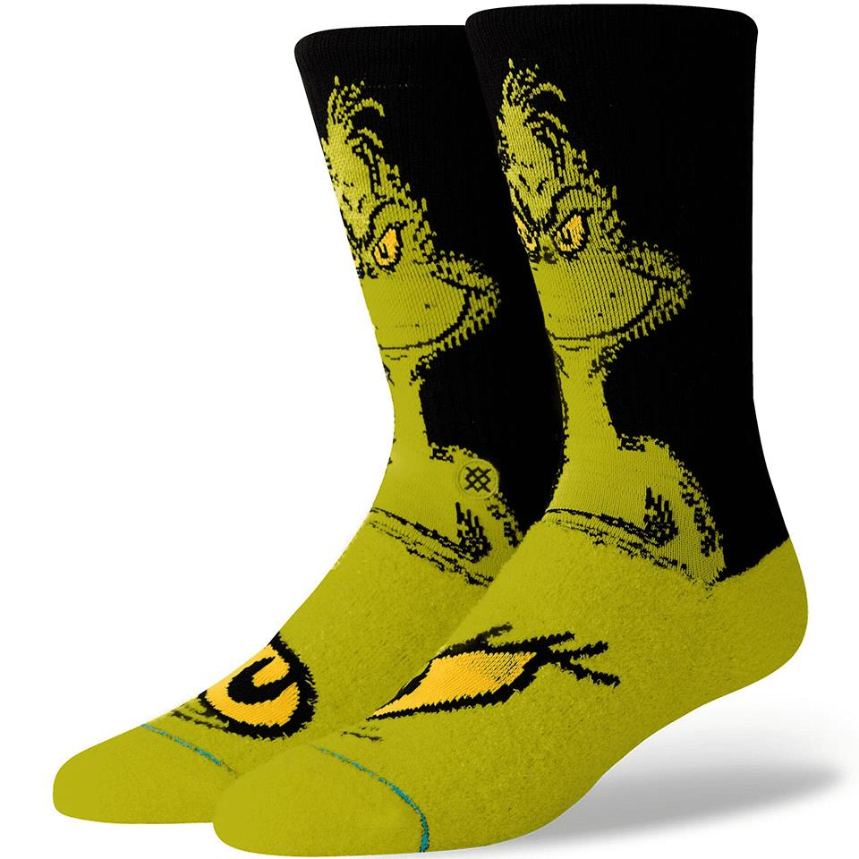 Stance The Grinch Socks/ Large