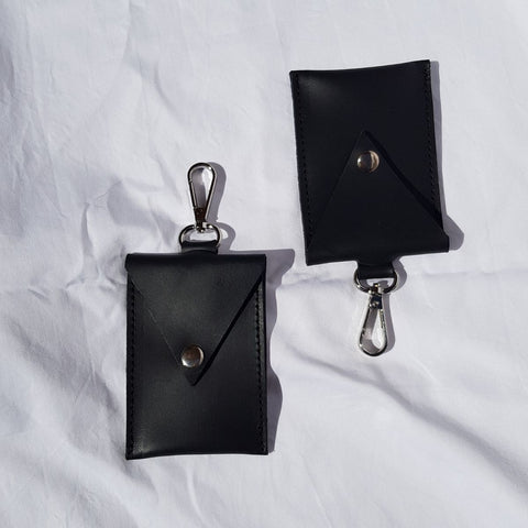 Cardholders by Lokol which are made in Kenya from leather off cuts