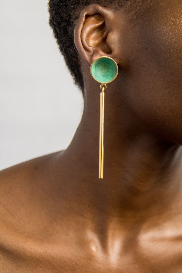 Ami Doshi Shah Vessel Drop Earrings for Ichyulu Made in Kenya