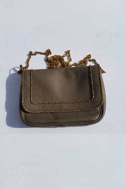 Leather bag made in Kenya