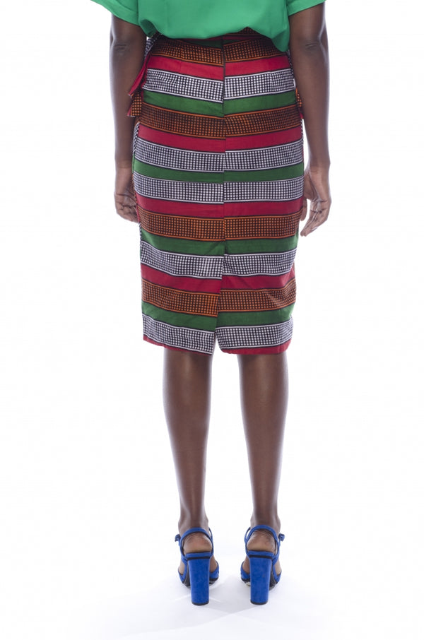 Mistari Stripe Skirt