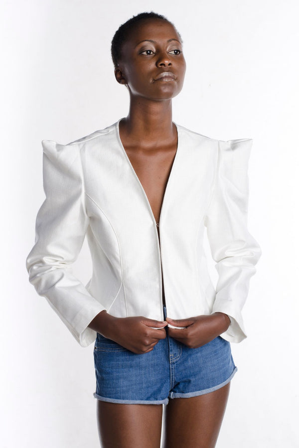 White Busuti Jacket