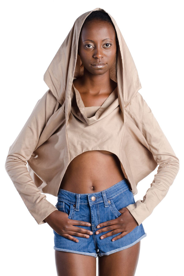 Hooded Crop Jacket