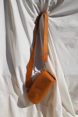 Lokol Barrel Bag Tan Leather for Ichyulu