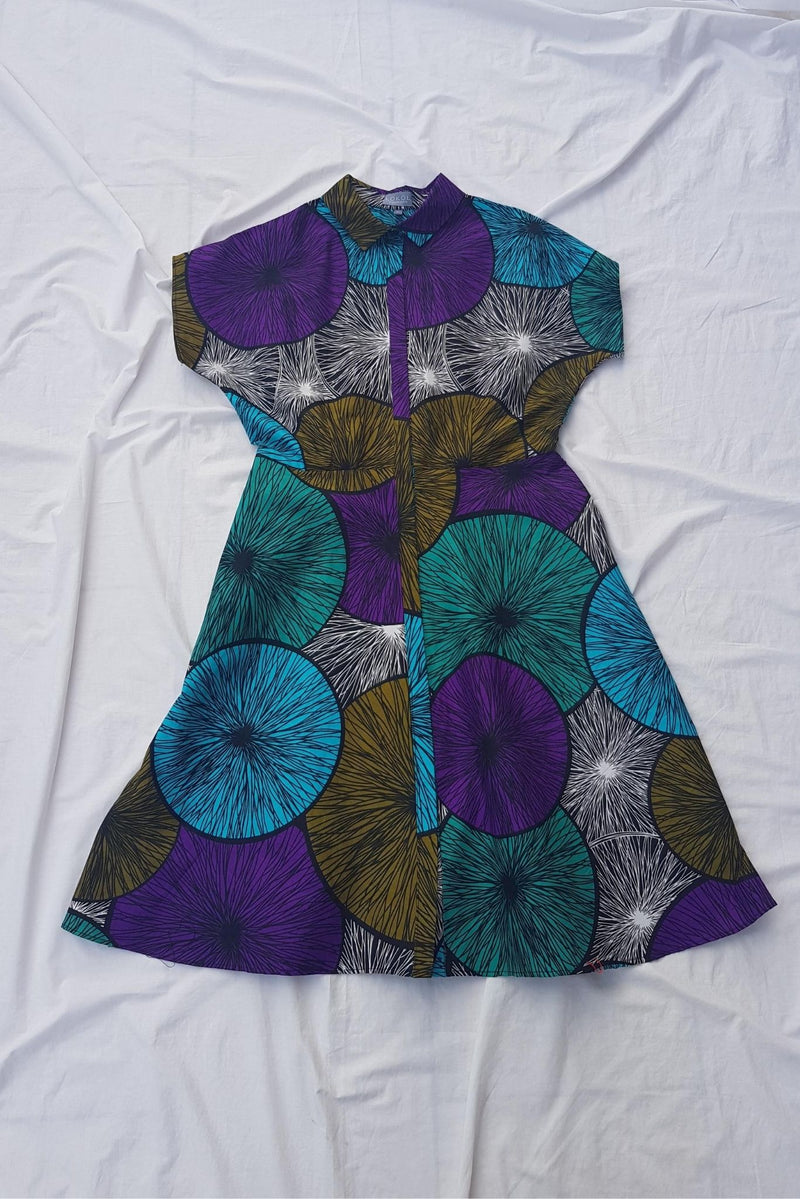 Lokol Shirt Dress Made in Kenya