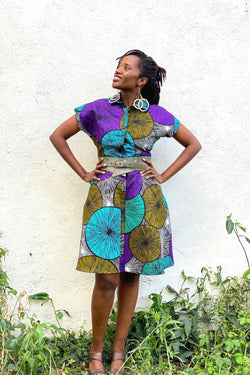 Lokol Shirt Dress Made in Kenya Lulu Kitololo