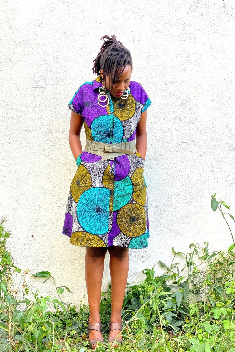 Lokol Shirt Dress Lulu Kitololo Made in Kenya