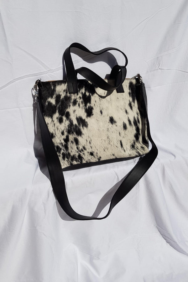 Zipper Tote (Hair On)