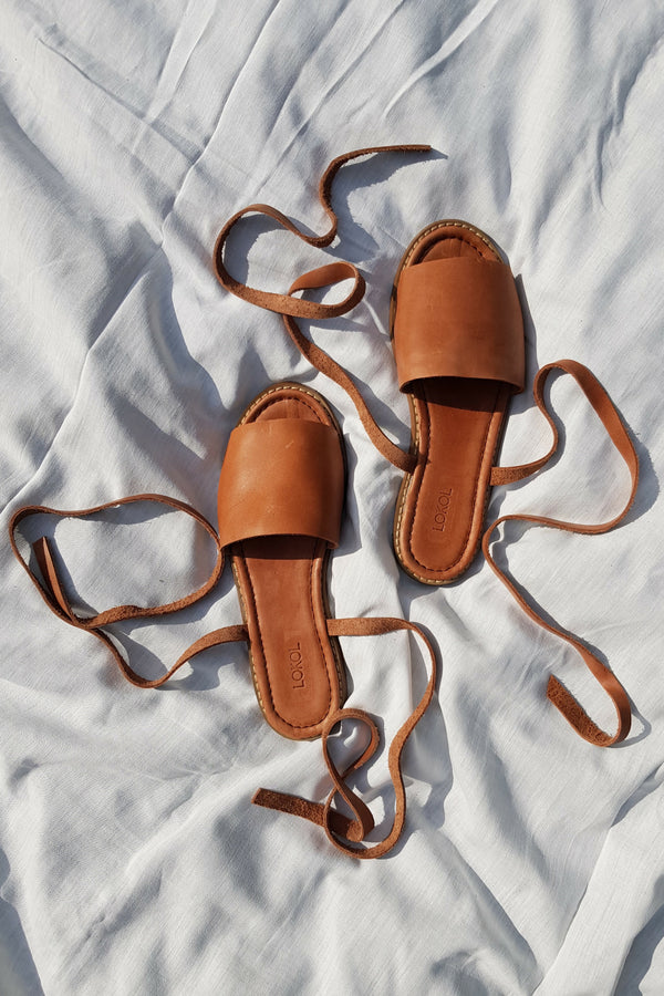 Tiwi Sandals (Brown)