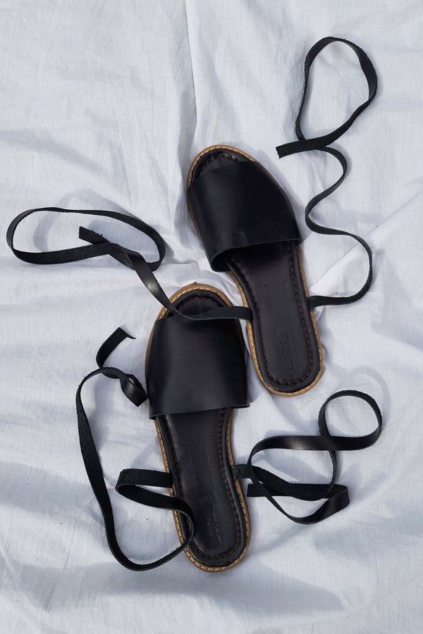Tiwi Sandals (Black - 2nd Quality)
