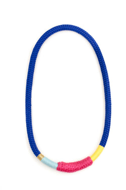 Blue Ndebele Necklace
