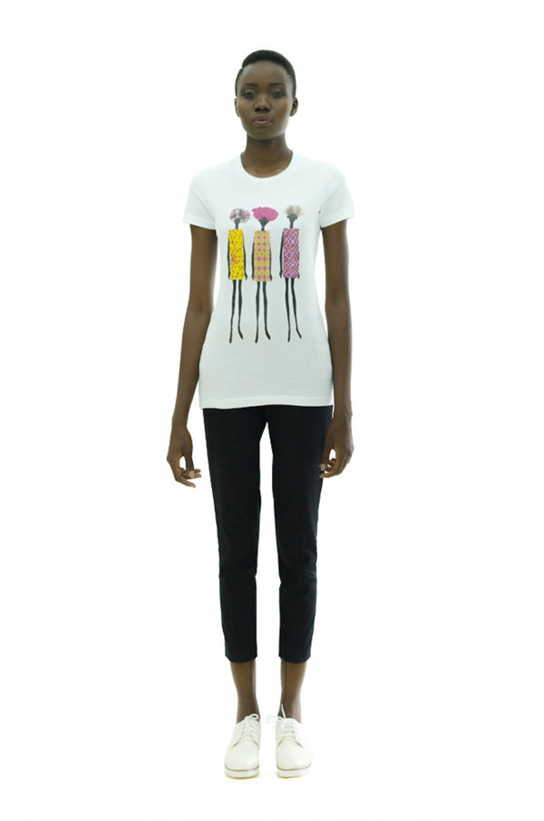 African Fashion Dolls Tee