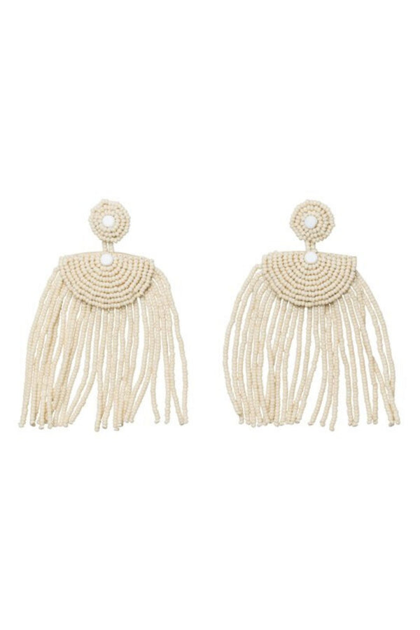 Sidai Designs Kifungo Short Tassel Earrings handmade in Tanzania for Ichyulu