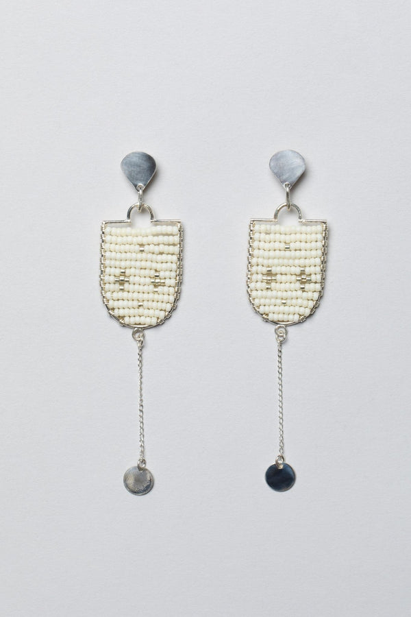 Beaded Earrings Made in Tanzania for Ichyulu