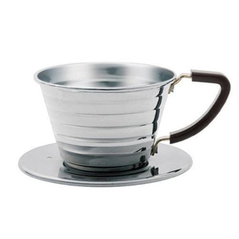 Kalita 155 Stainless Wave Coffee dripper 1-2 cup