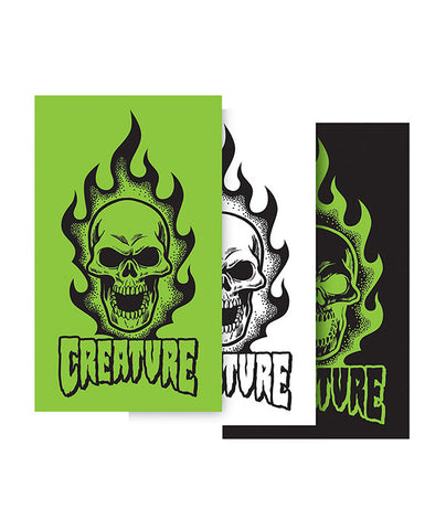 Creature Bonehead Sticker