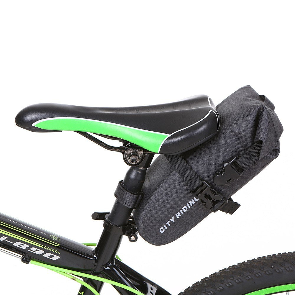1.5L Bike Saddle Bag Cycling Seat Post Bag Water Repellent Bike Rear Seat Bag MTB Road Bike Tail Storage Bag