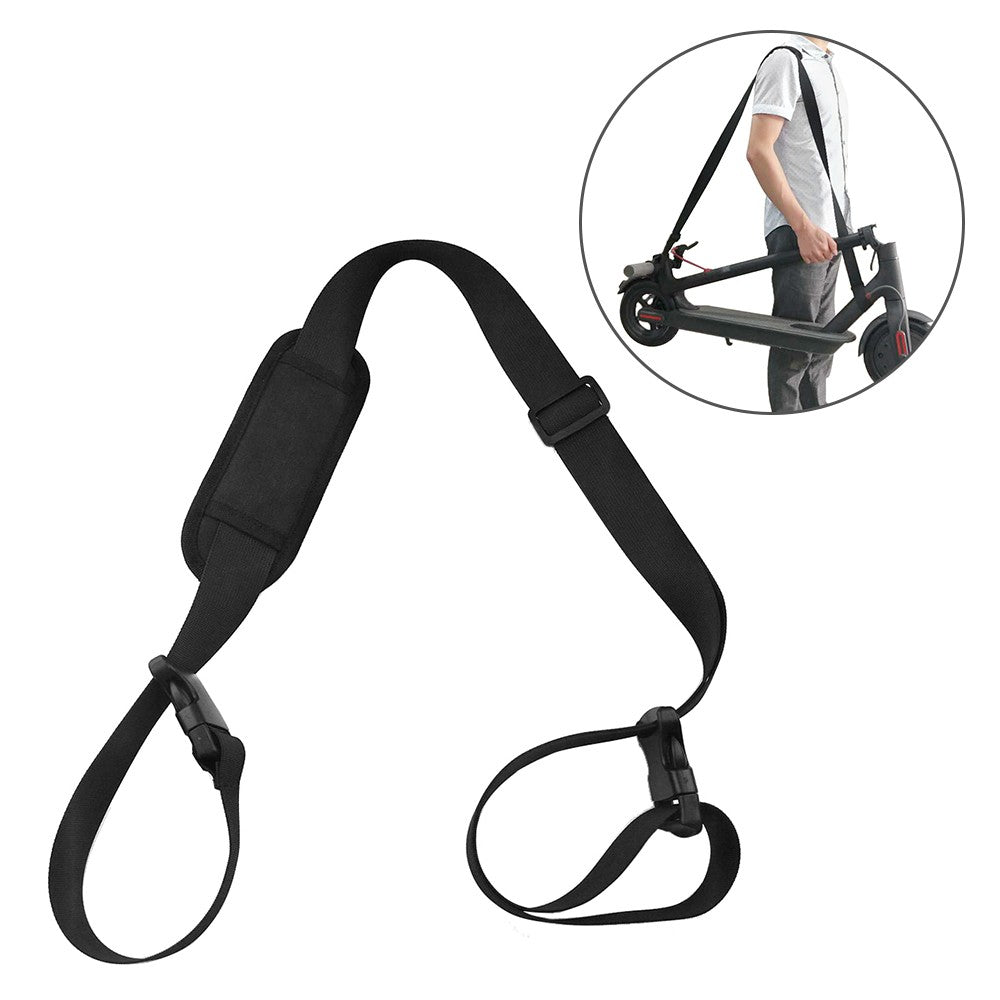 5.2FT Scooter Carrying Strap Oxford Cloth Scooter Shoulder Strap Cross-body Band for Xiaomi Mjia M365 Electric Scooter
