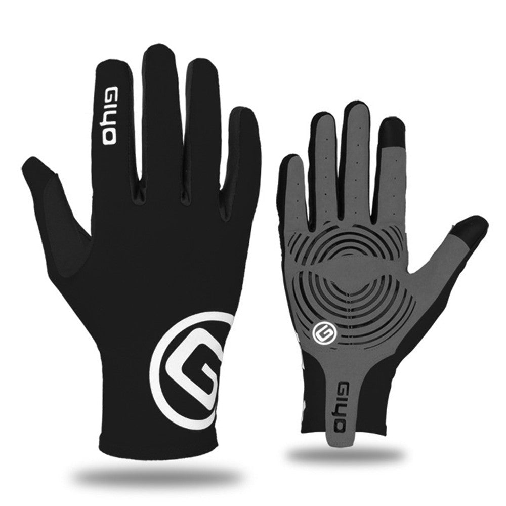 Cycling Gloves Touchscreen Anti-slip Riding Driving Full Fingers Gloves Shock Absorbent Bike Motorbike Riding Gloves