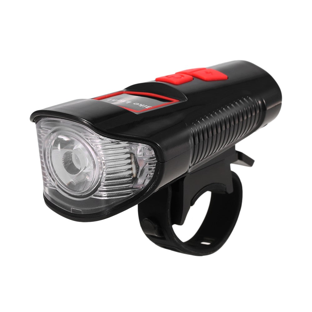 Waterproof Bicycle Headlight Rechargeable Cycling LED Front Light Bike Head Lamp With Loud Bell Warning Horn Light For MTB Road Bike