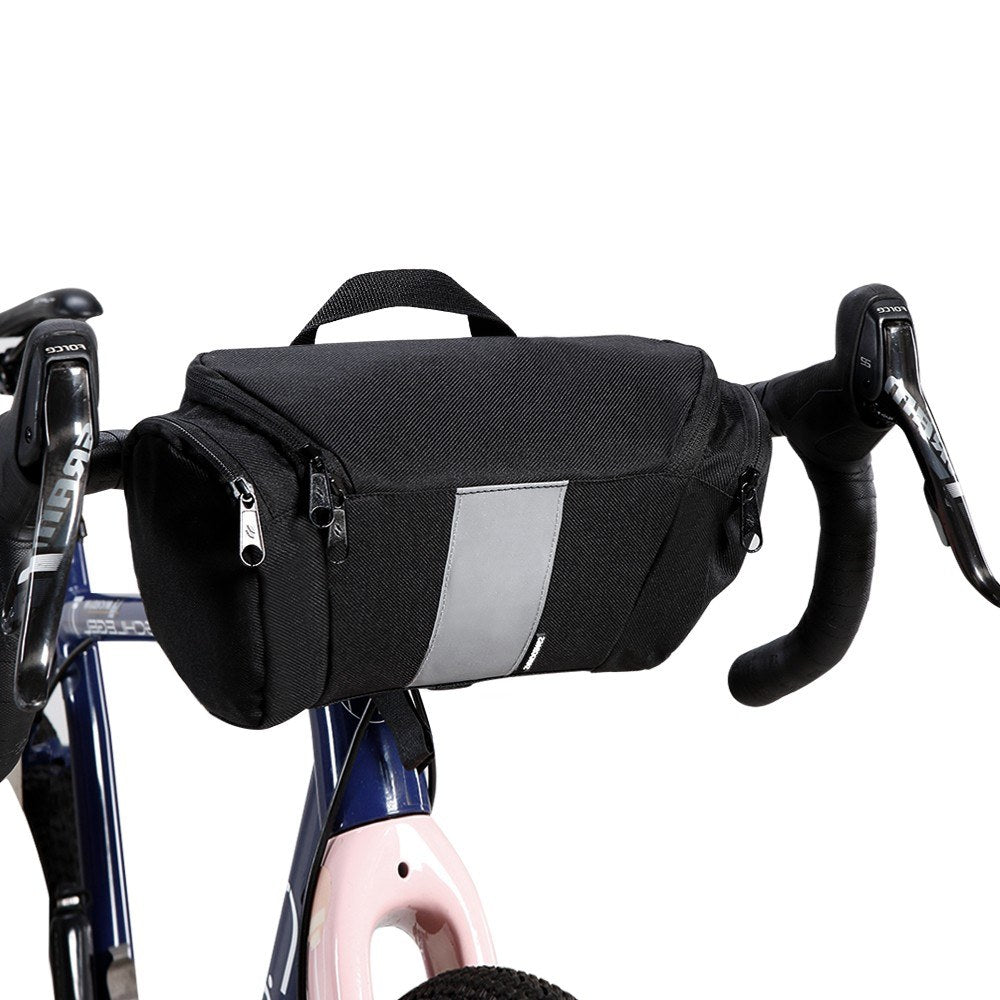 3L Bicycle Handlebar Bag Cycling MTB Mountain Road Bike Front Basket Pannier Bag