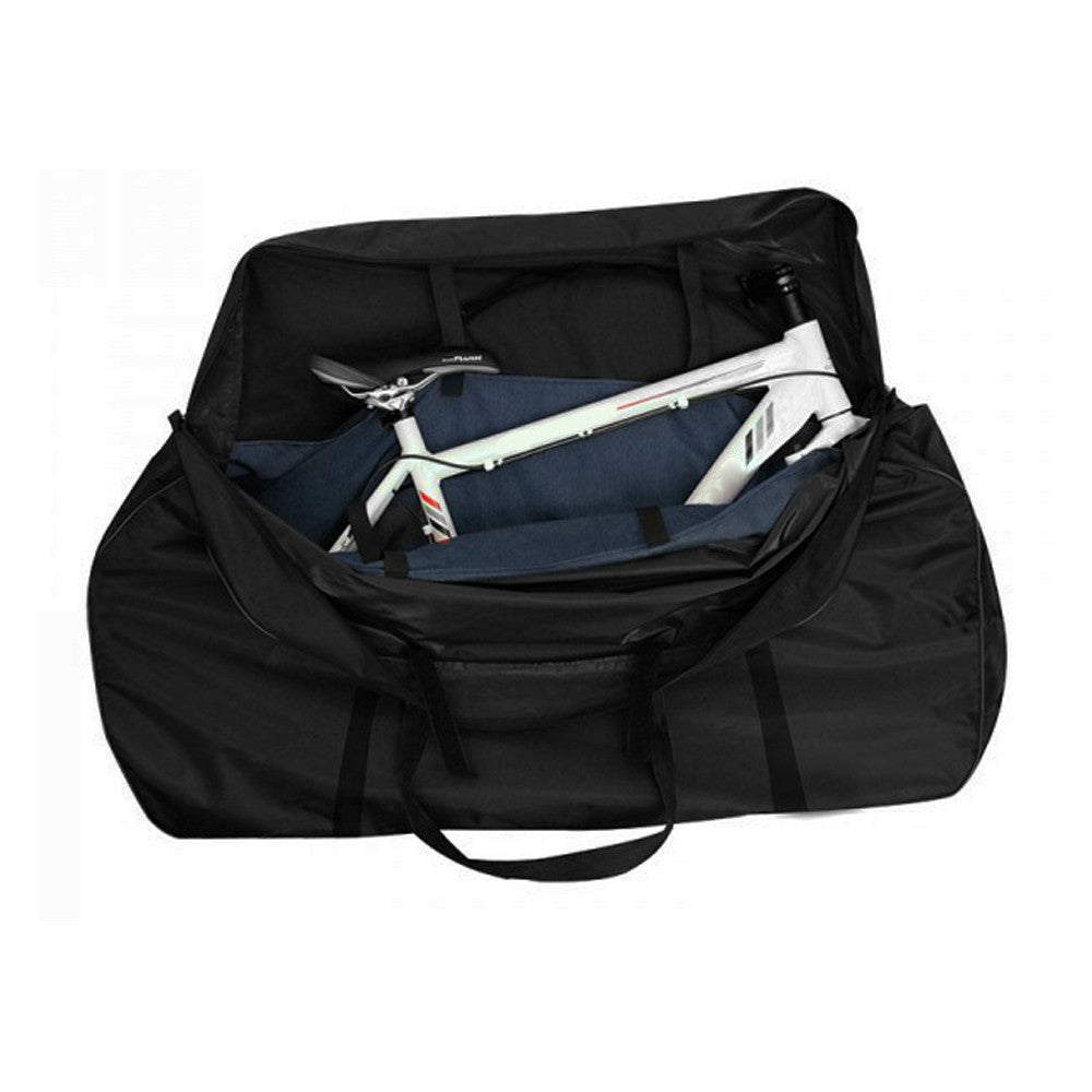 Bike Travel Case Transport Bag Carrier Bag Mountain Road Bike Carrying Case with Fork Protector