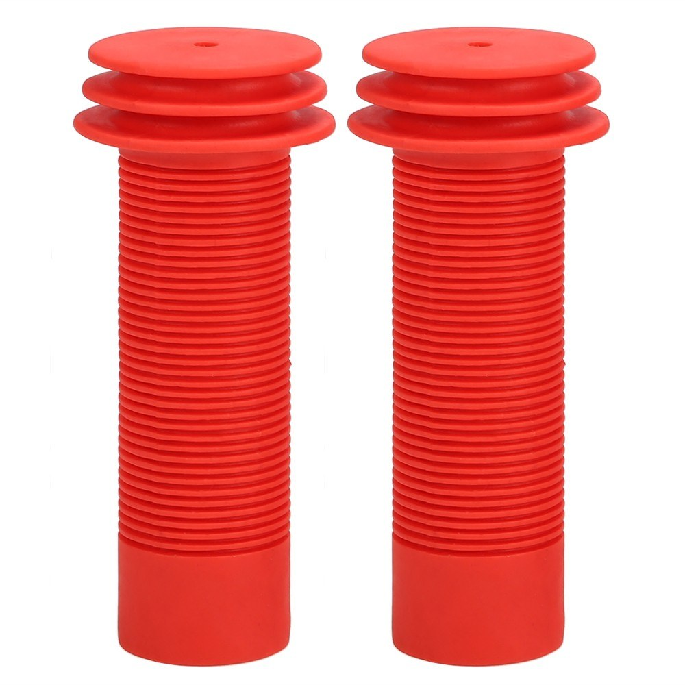 2PCS Bike Handlebar Grips Anti-skid Kid's Bike Scooter Bar End Grips Fit 22.2mm Handlebar