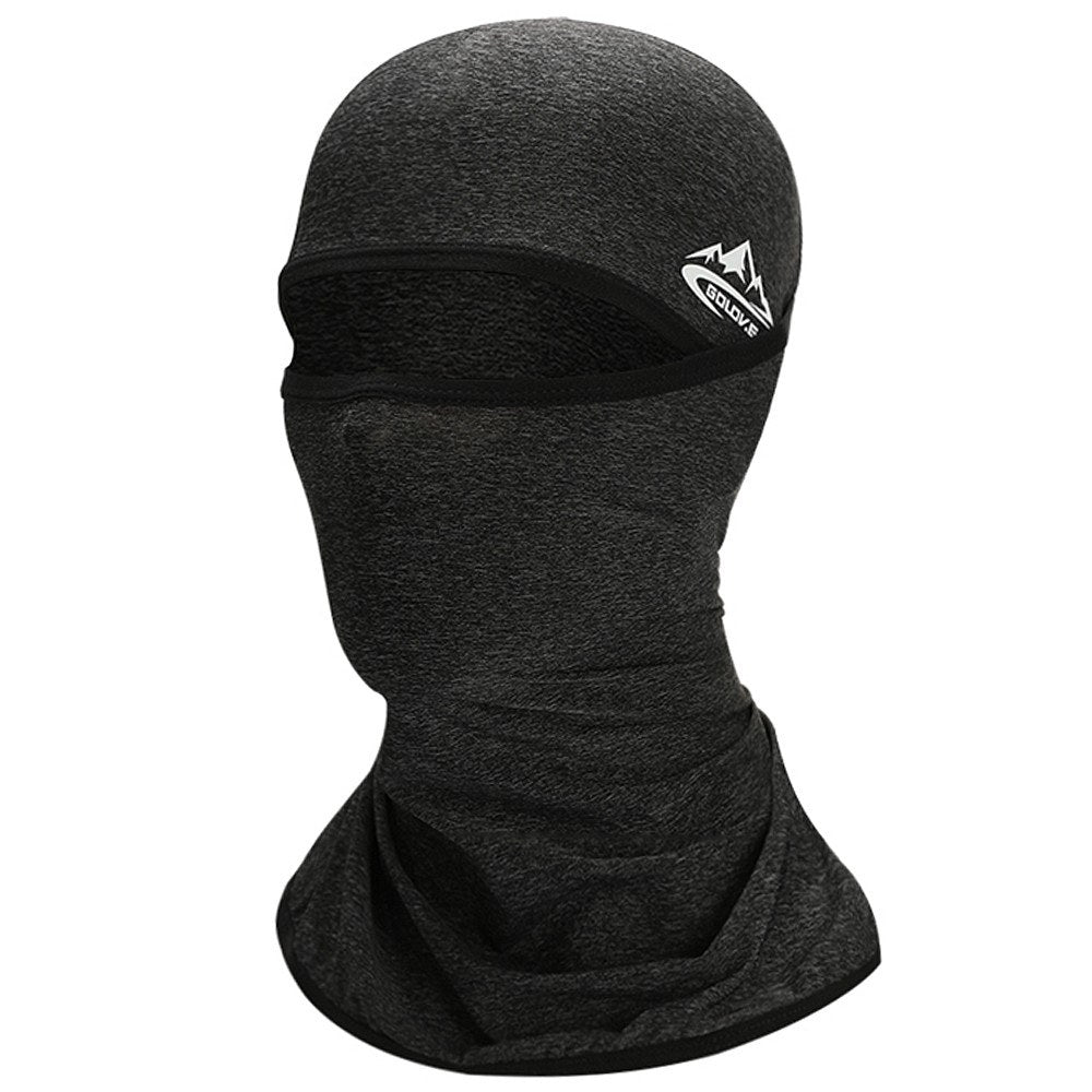 Cycling Face Mask UPF50+ Helmet Liner Balaclava Cooling Ice Silk Neck Gaiter Summer UV Protection Headgear