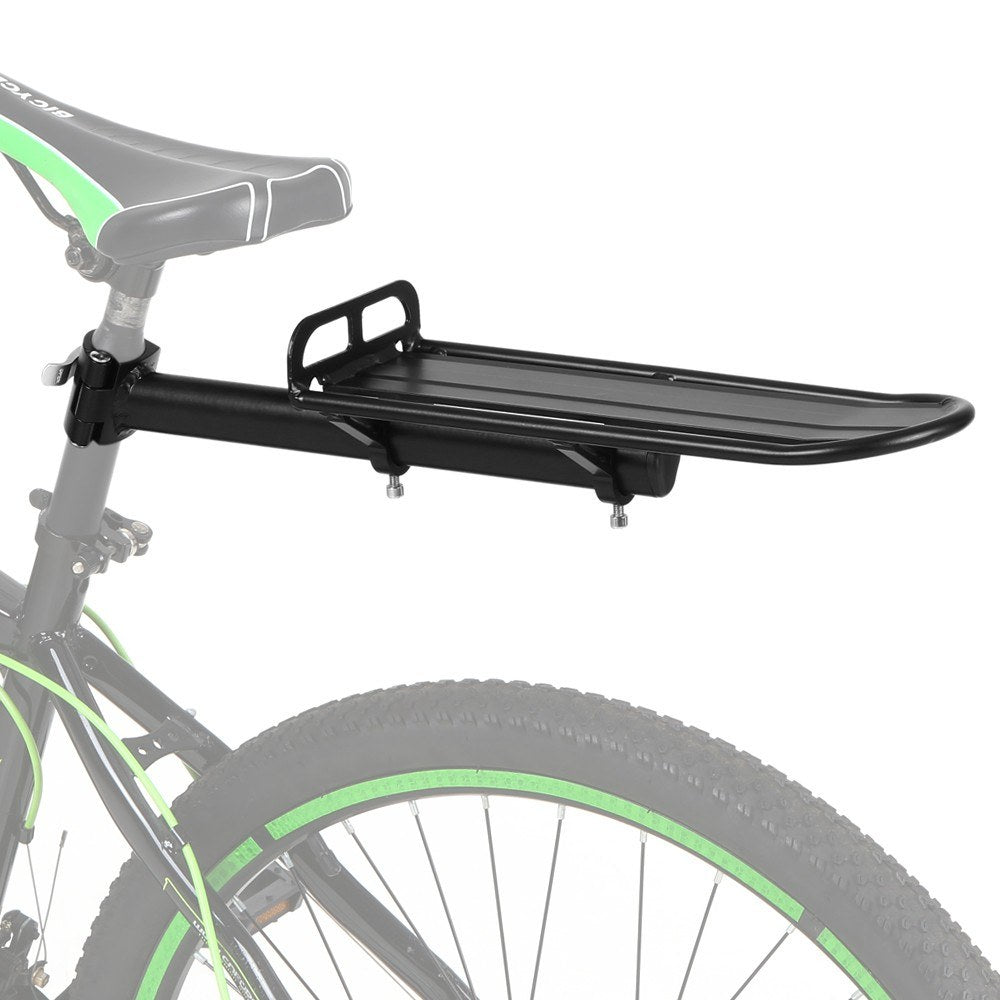Retractable Aluminum Alloy Cycling Bike Rear Seat Post Rack Bicycle Pannier Luggage Cargo Carrier Rack