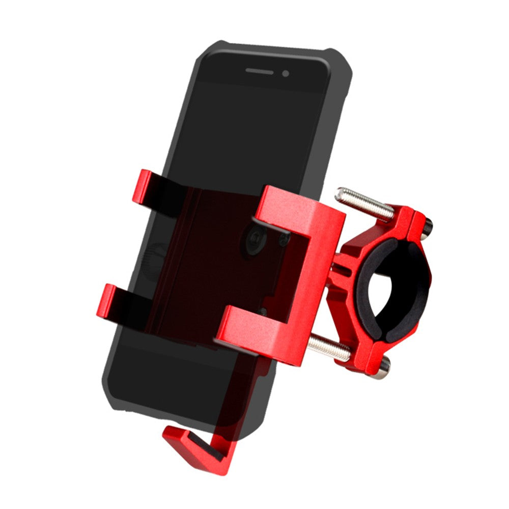 Bicycle Phone Mount Aluminum Bike Phone Holder with Aromatherapy Stick for Mountain Bike Road Bicycle Motobike