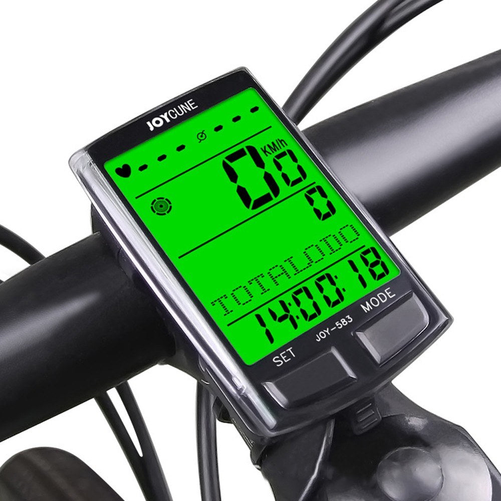 Bike Bicycles Waterproof Computers Multi-function Bt Code Table Large-screen Backlight with Eight Countries Language