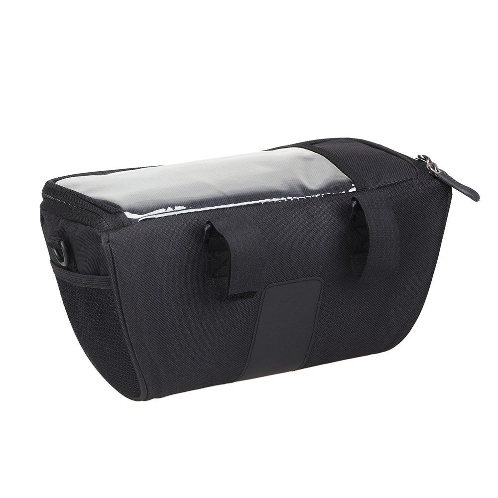 Multi-functional Bicycle Handlebar Bag with Touchscreen Pocket Cycling Front Frame Bag Pack Crossbody Shoulder Bag