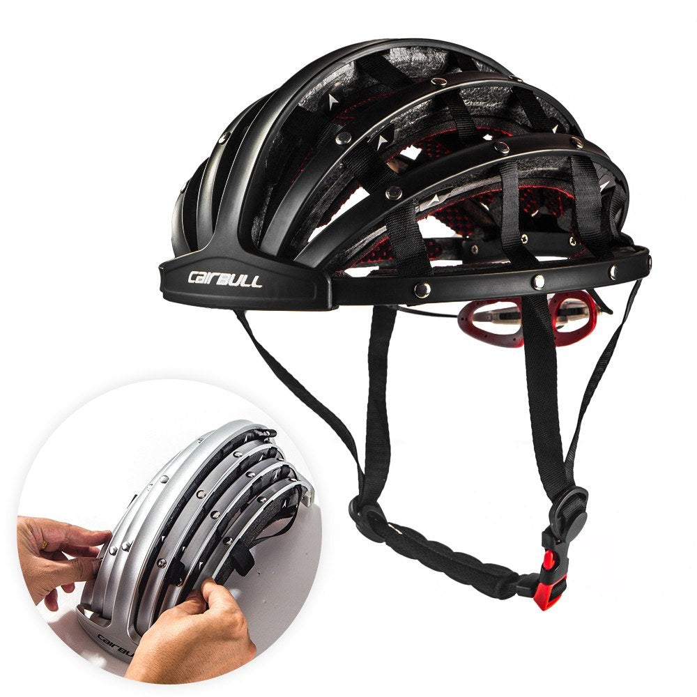 Bike Helmet Foldable Cycling Helmet Adult Road Bike Safety Helmet Lightweight Sports Protective Equipment