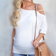 Maternity Sling Shoulder Backless Sleeve Top