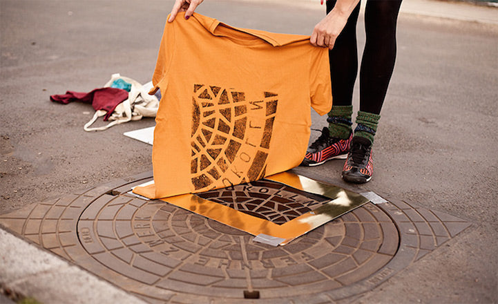 """Pirate Printers"" are using manhole covers"