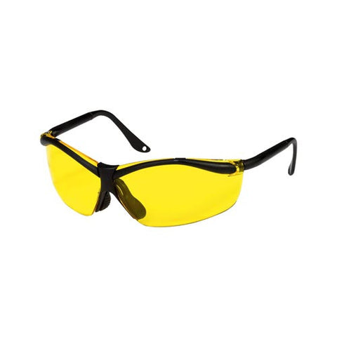 PELTOR XF4 SAFETY GLASSES, YELLOW
