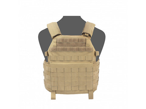1A Plate Carrier DCS Releasable by Warrior Assault Systems -Coyote Tan