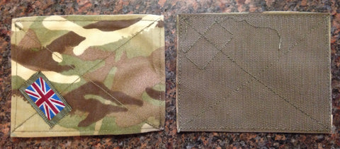 British multi-terrain Camo arm Patches (New)