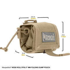 Rollypoly® MM Folding Dump Pouch by Maxpedition SKU 0208