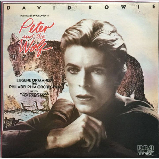 David Bowie Narrates Prokofiev's Peter and the Wolf (LP SET)