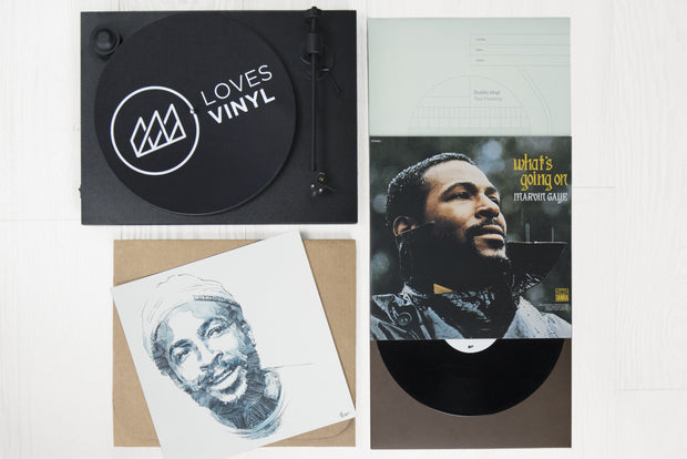 March Box - Marvin Gaye 'What's Goin On'