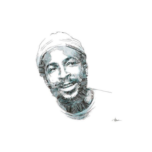 Limited Edition Print of Marvin Gaye