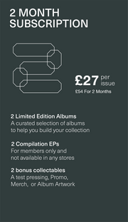 LovesVinyl Gift Subscription (2 months £27 per issue)