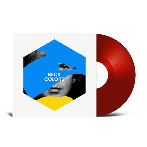 Beck 'Colors' on Red Vinyl