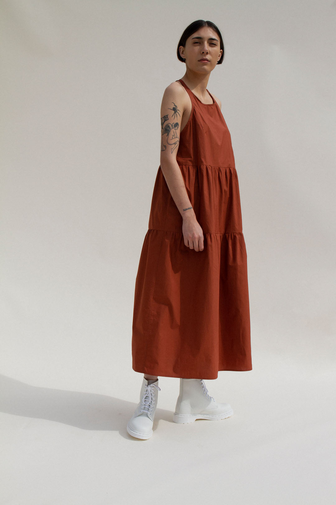 Jo Nightdress in Rust (MADE TO ORDER)