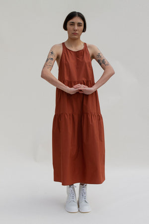 Jo Nightdress in Rust