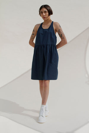 Cece Nightdress in Navy