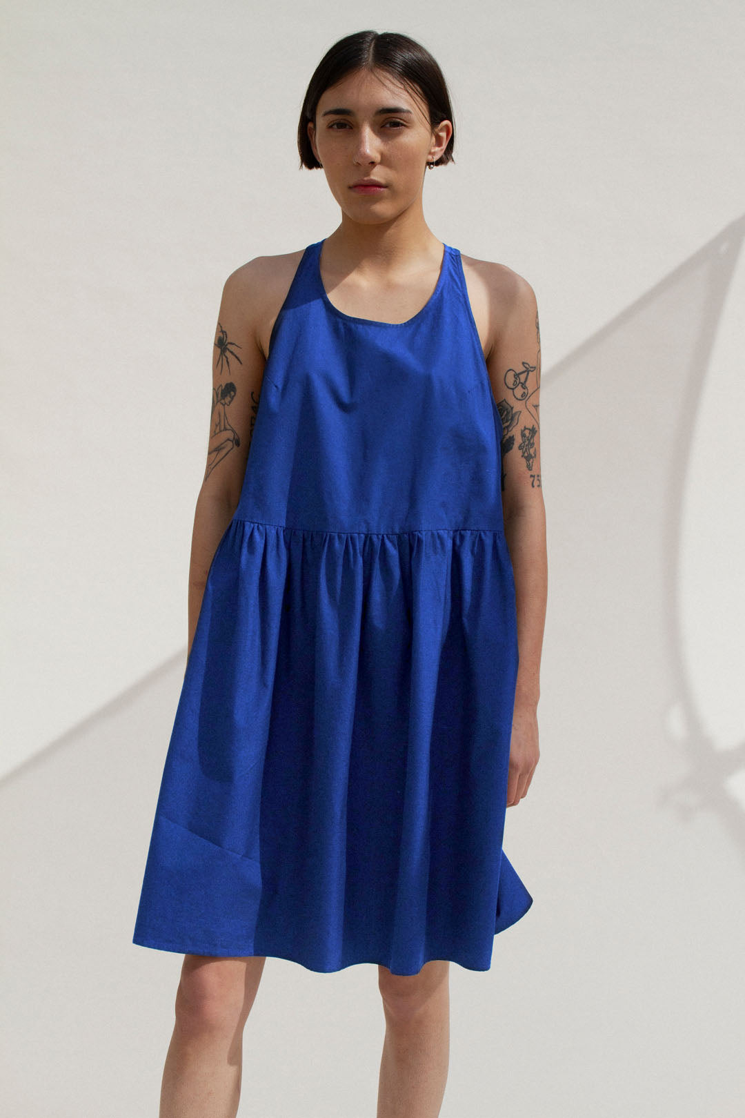 Cece Nightdress in Blue (MADE TO ORDER)