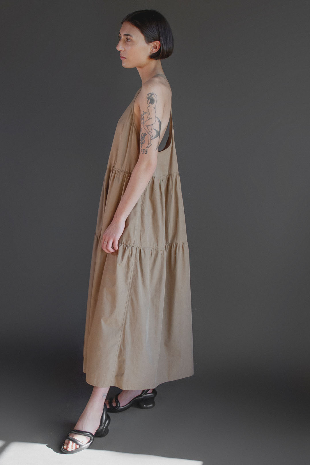 Josephine Nightdress in Earthen
