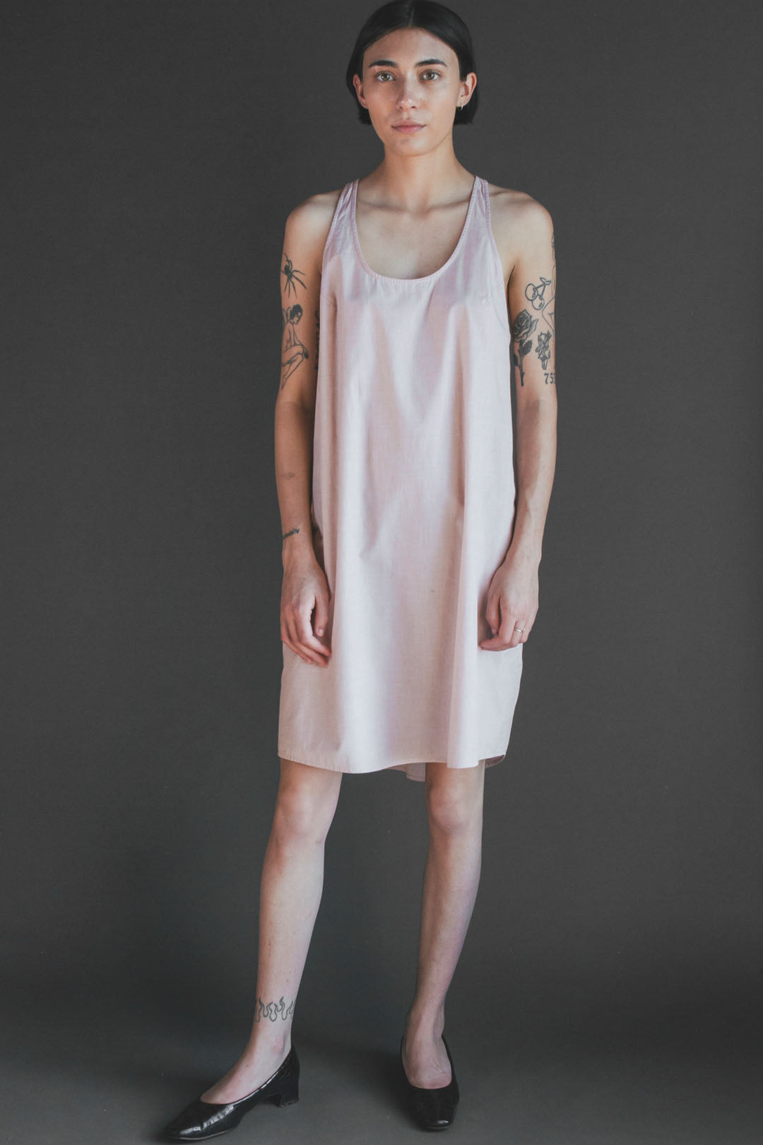 Mica Nightdress in Pink Sand
